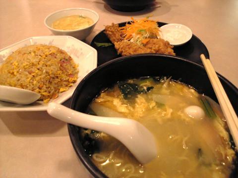 祥楽-今日の食事