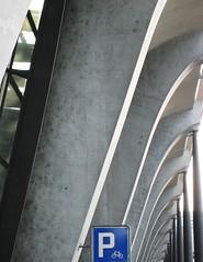 Lucerne Main Station by Santiago Calatrava (swisscan) Tags: station schweiz switzerland parking main luzern lucerne aplusphoto
