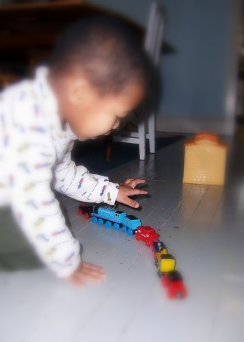 punkin counting train cars