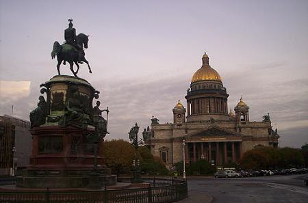 St Isaac Cathedral of Saint Petersburg