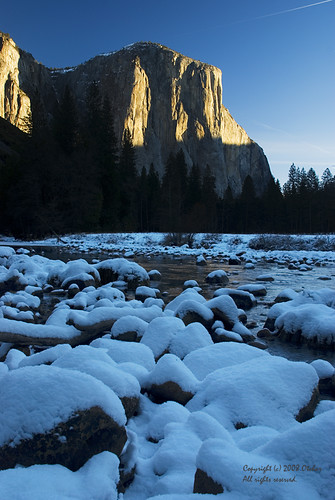 El Capitan and Snow