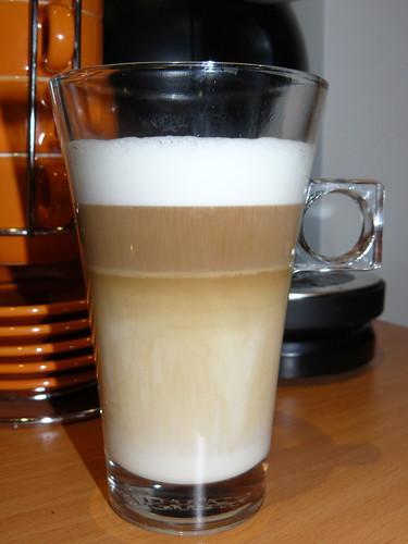 Latte Macchiato de la tarde