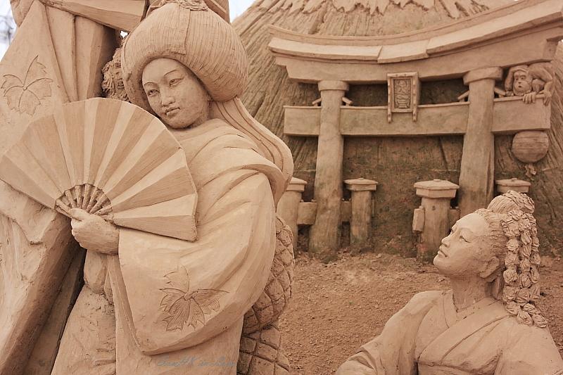 Kirei @ World Sand Sculpture Festival, Chacherngsao, Thailand