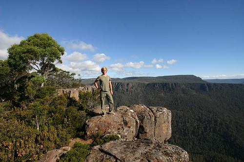 Devils Gullet Lookout, Central Tasmania.