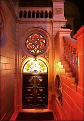 Вход в сальса-клуб ресторан «Бернардацци», Одесса, Украина