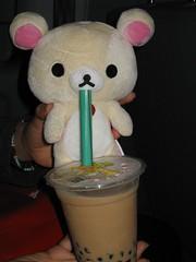 Pearl Milk Tea IMG_2032 (Mickey Mikkii) Tags: taiwan taipei pearlmilktea rirakkuma korirakkuma