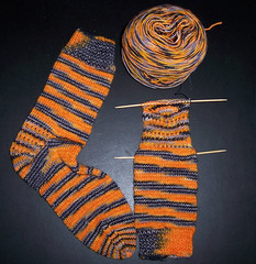 Yarn Pirate - Spooky Sock