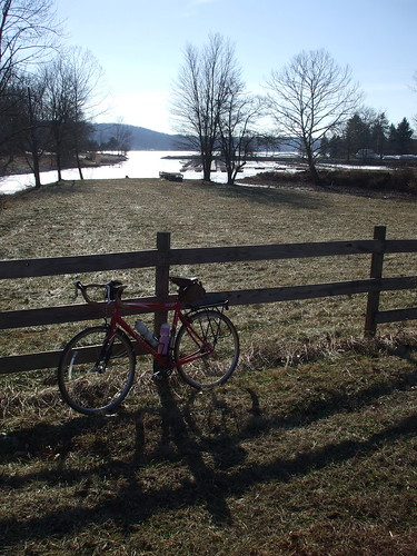 My bicycle near Lake Lemon