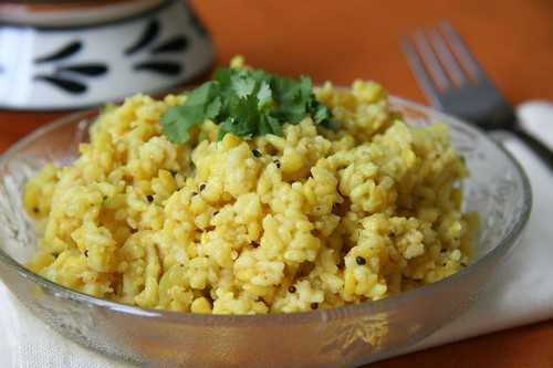 Moong Dal Khichadi with Potatoes The basic, simple maharashtrian moogachi