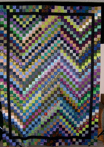 Scrappy Bargello