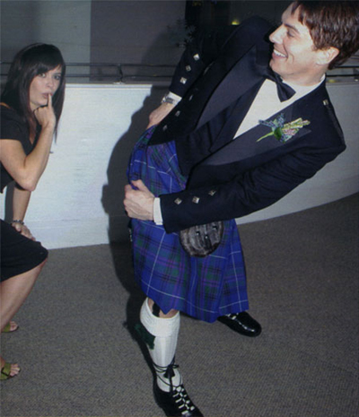 Barrowman playful