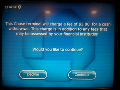 Getting away with... (dM.nyc) Tags: 3 evil bank chase robbery theft atm stealing