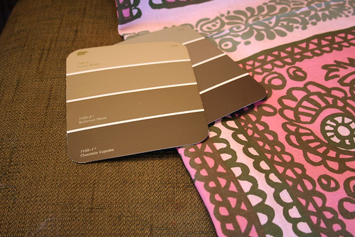 Fabrics & Paint for the Dining Room