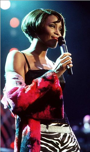 Whitney Houston in Germany 199...