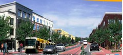 a rendering of the Atlanta BeltLine (by: Atlanta Development Authority)