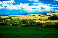 Same Day (thorinside) Tags: sky foothills mountains calgary clouds farmland glorious alberta diamondclassphotographer goldstaraward