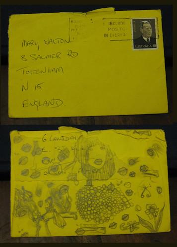 envelope from bon