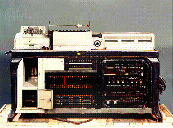 The IBM Hollerith punch card machine