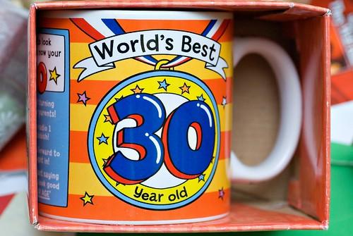 World's Best 30 Year Old Mug