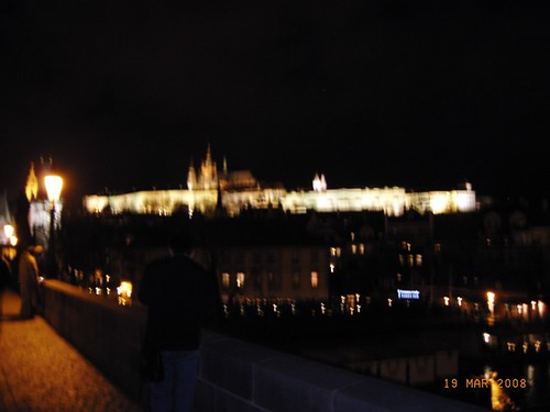 Praga by night - The castle