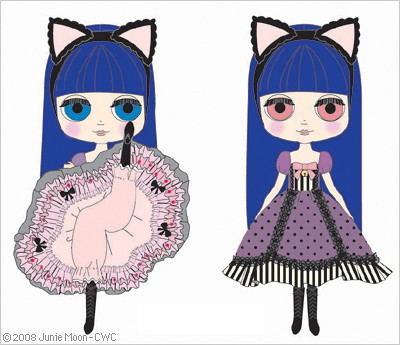 New Blythe for May: Can Can Cat