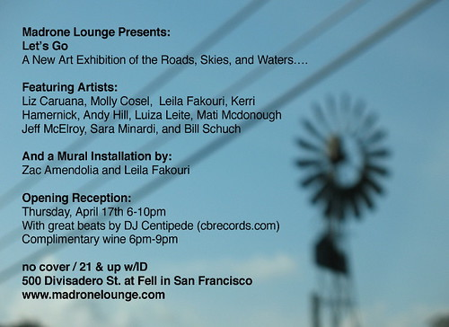 madrone art show deets