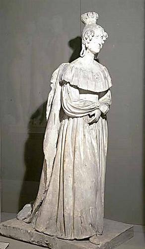 Escultura de Marie Amlie de Bourbonduch, Museo Calvet, Aviñón, Francia