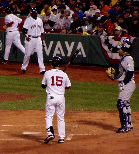 Pedroia up by you.