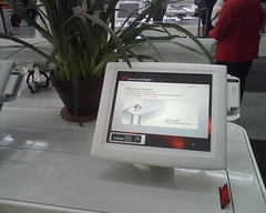 Virgin America Check In Kiosk