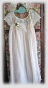 White Upcycled Fairy Princess Dress