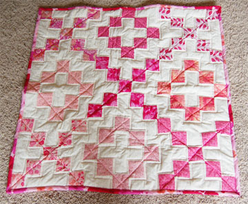 Baby R Quilt