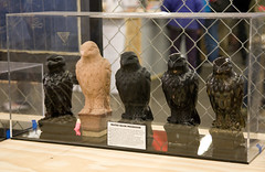Maltese Falcon Replicas by Adam Savage (Scott Beale) Tags: make maltesefalcon makemagazine makerfaire adamsavage sanmateoexpocenter makerfairebayarea makerfaire2008 makerfairebayarea2008 upcoming:event=190362