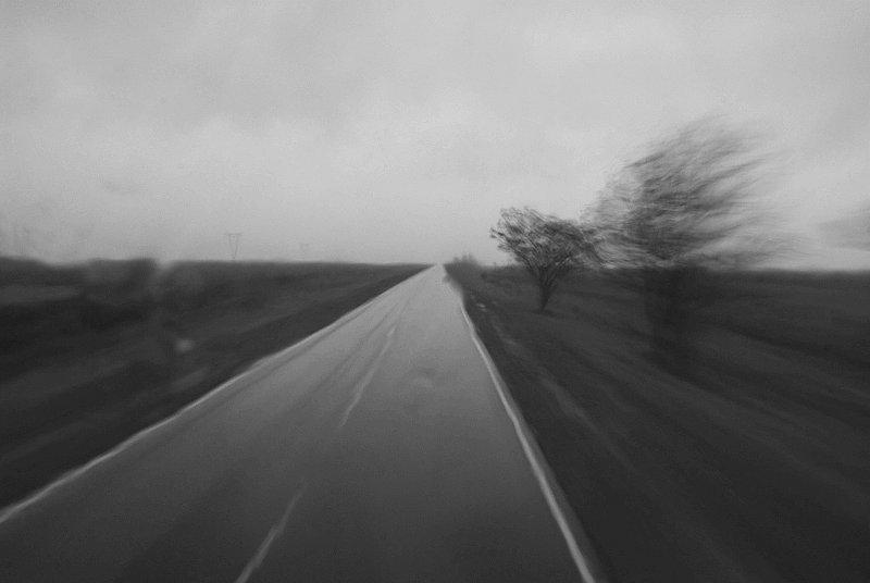 Rainy Bus Ride