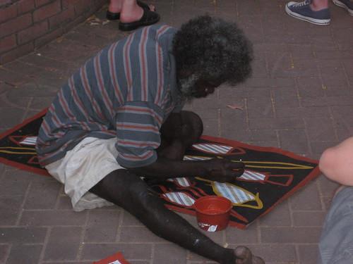 Artist at Mindil Beach