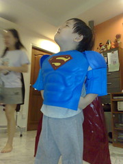 My son, Superhero