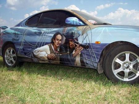Resimli Araba Süslemeleri.