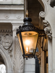 Gas lamp in the Middle Temple (James E. Petts) Tags: middletemple gaslamp london