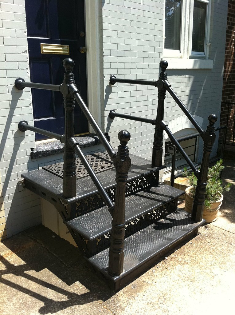 Beyond The Area Right Around Our House, All Differnt Styles Of Cast Iron  Stairs Can Be Found, Each Similar But With Unique Characteristics, From  Small And ...