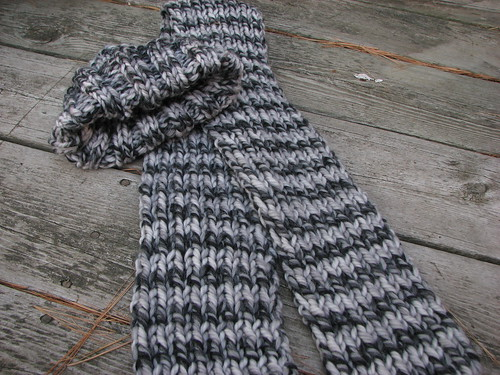 Big Wool Scarf & Hat
