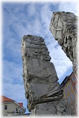 Concrete Stone Henge (Alex Schraufstetter Photographer) Tags: blue sky art clouds concrete nikon alexander traunstein frombeyond d80 dyzzy schraufstetter scagency