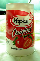 Yoplait Strawberry Yogurt YUM!