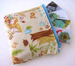 ... and I've already made a little pouch to hold them :-)