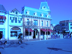 Interesting... (JoWiJo) Tags: blue error disneyland bluesky disney emporium themepark mainstreetusa