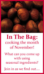 In the Bag November Logo