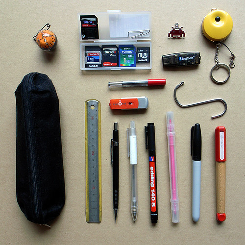 what's in my pencil case
