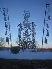 Sculpture by Bill La Deaux and Dave Estrada