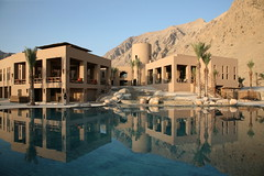 the resort (Makz) Tags: holiday mountains architecture resort oman myfave sixsenseshideaway zighybay
