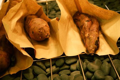 Roasted Japanese Yams