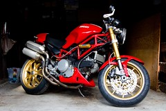 Ducati S2R (100% Beef) Tags: monster ducati desmo ducatimonster s2r ohlins ducatis2r marchesini