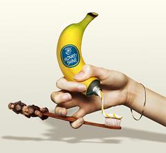 Banana Toothpaste